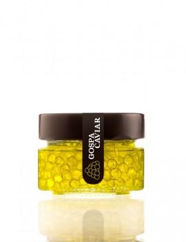 Esferificación aceite de oliva virgen extra